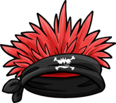 Jolly Roger Bandana Puffle Hat