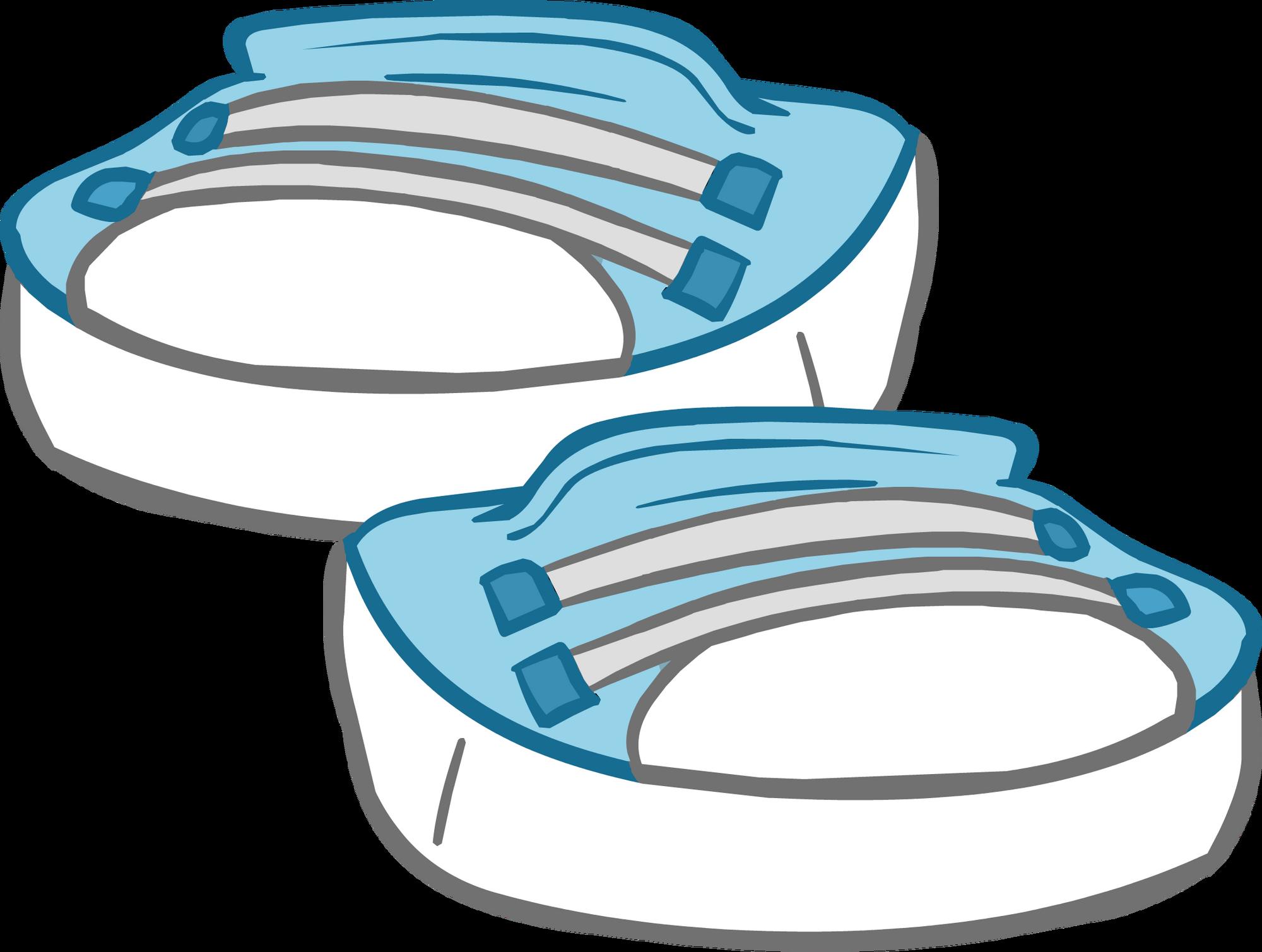 sky blue sneakers club penguin wiki fandom powered by wikia