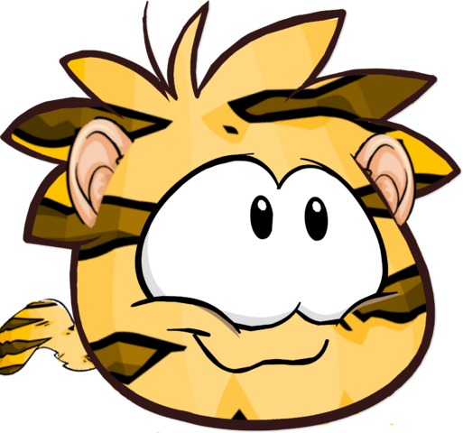 File:Tiger Puffle2.png