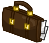 Briefcase clothing icon ID 5221