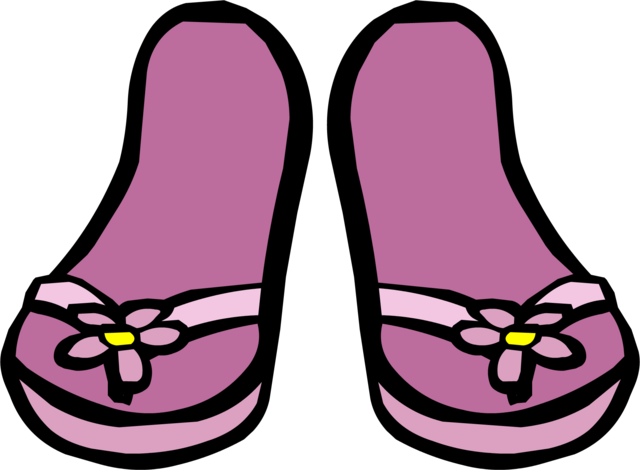 File:Pink Flower Sandals icon.png