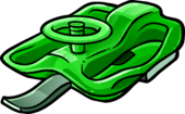 Green Racing Sled