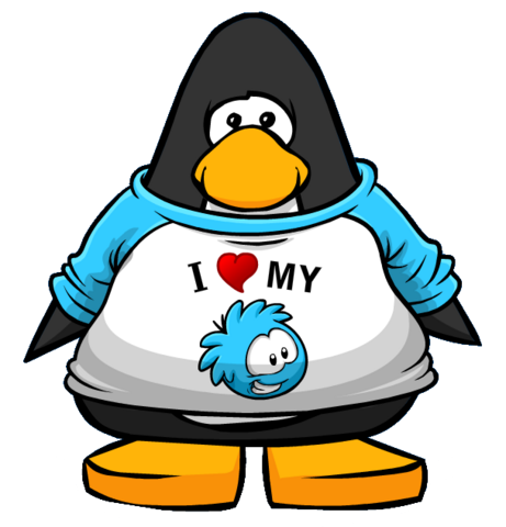 File:I Heart My Blue Puffle T-Shirt from a Player Card.PNG
