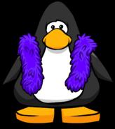 Purple Feather Boa Player Card