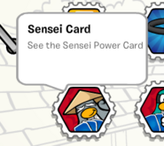 Sensei card stamp book