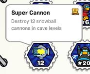 Super cannon stamp book