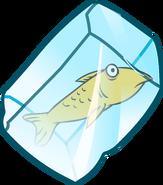 Fluffy ice block