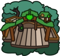 Green Puffle Tree House icon