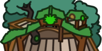 Green Puffle Tree House