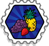 Fruit Stomper Stamp