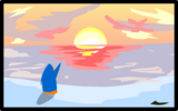 Sunset Painting sprite 004