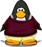 Cranberry Lemon Outfit on a Player Card