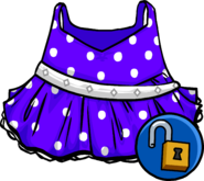 Purple Polka-dot Dress icon