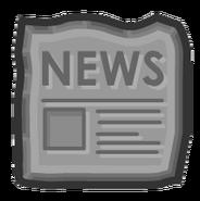 ReadNewspaperIconPrehistoricParty