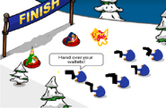 Club penguin violent robbery