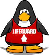 Liftguard Shirt from a Player Card