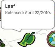 Leaf Pin Stamp Book