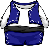 Blue Torero Suit clothing icon ID 4050