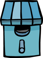 Blue Birdhouse sprite 002