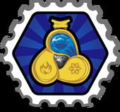 Water Ninja Stamp