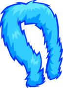 Blue Feather Boa icon