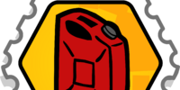 Fuel Rank 5 stamp