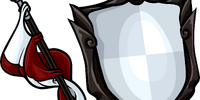 Staff and Shield