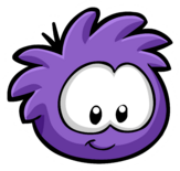 Purple Puffle Pin icon