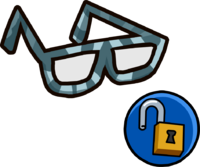 Hipster Glasses clothing icon ID 12127.PNG