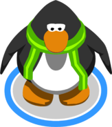 The Green Trendy Scarf In-Game