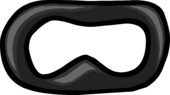 Black Superhero Mask icon