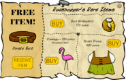 Rockhopper's Rare Items February 2007