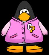Pink letterman javket 2