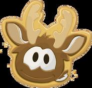 Reindeer Puffle Cookie