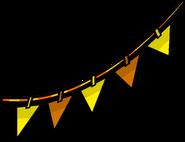 Orange Triangle Pennants sprite 002