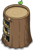 Stump Bookcase sprite 037