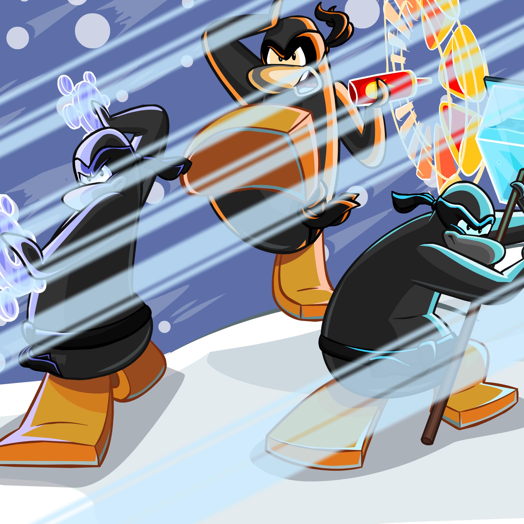 Penguin Chat 2 - RocketSnail.com