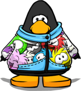 Puffle Jacket from a Player Card