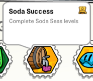 Soda success stamp book