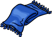 Blue Designer Scarf Icon