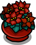 Potted Poinsettia sprite 003