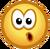 CPNext Emoticon - Surprised Face