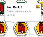 Fuel rank 3 stamp book