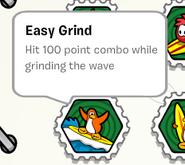 Easy grind stamp book