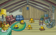 Operation Puffle Lodge Attic