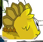 Yellow Dino Puffle Handbook