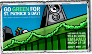 St. Patricks's Day Party 2008 advertisement