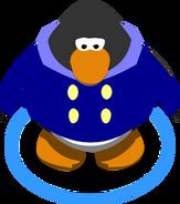 Blue Duffle Coat ingame