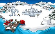 Snow Sculpture Showcase Dock 2