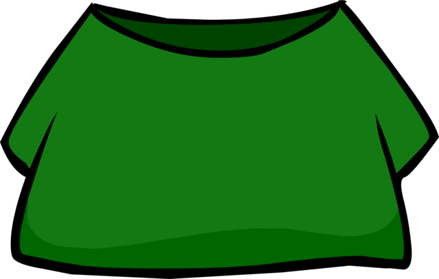 File:Green Shirt clothing icon ID 4059.png